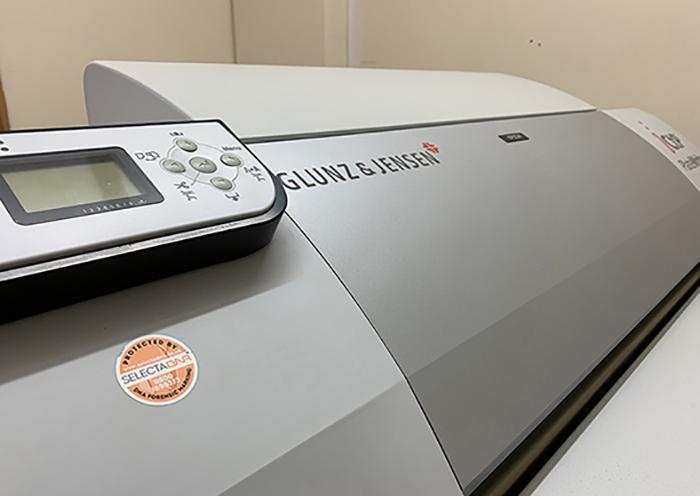 Axminster Printing Plate Maker