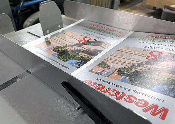 Axminster Printing Creaser